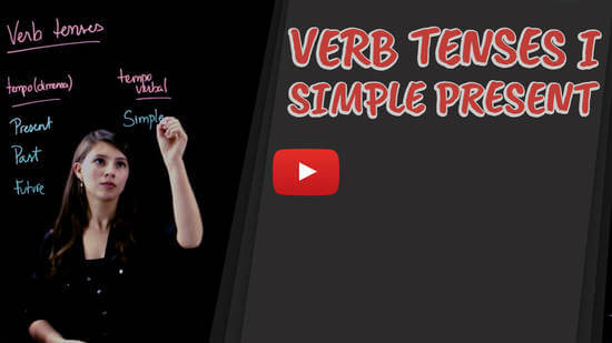 vídeo-aula de inglês - Verb Tenses I Simple Present